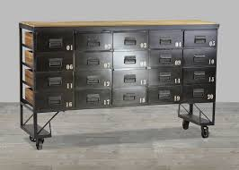 metal sideboard with casters