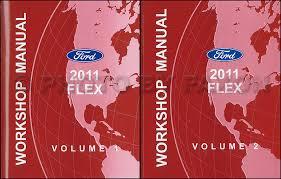 2011 ford flex wiring diagram manual original 2011 ford flex repair shop manual original 2 volume set 159 00