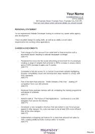 Air Quality Consultant Sample Resume Resume Mainframe Resume 12