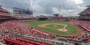 Cincinnati Reds Seating Chart Great American Ball Park Section 220 Cincinnati Reds