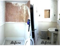 add shower to bathtub add shower to half bath what we started with hand bathtub add