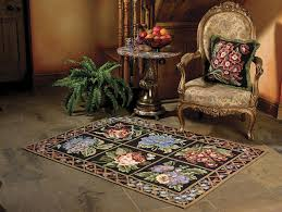glorafilia needlepoint rugs victorian fl rug kit