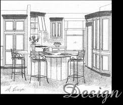 Kitchen Design Sketch Amazing NH Kitchen And Bath Design David R Crupi LLC DavidRCrupi
