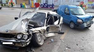 MTV Lebanon - News - Local - Photo: 4 injured in a horrific car accident