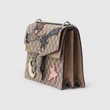 gucci 403348. gucci dionysus embroidered shoulder bag detail 2 403348 d