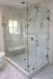 frameless shower glass door by century glass