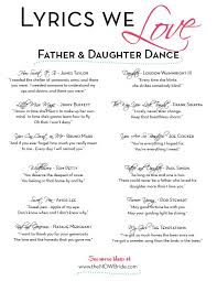 best 25 father daughter songs ideas on pinterest father Wedding Songs That Make You Cry lyrics we love father and daughter dance (i already decided little miss magic was gonna be my father daughter song beautiful wedding songs that make you cry