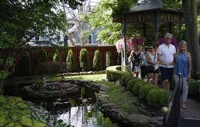 visitors take in a garden on norwood avenue on july 29 during garden walk buffalo