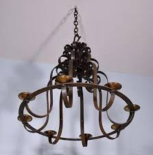 wrought iron chandeliers 1 of large diameter antique french wrought iron chandelier hanging lamp black wrought
