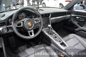 porsche 911 2015 interior. porsche 911 carrera cabriolet facelift 9912 interior at the iaa 2015
