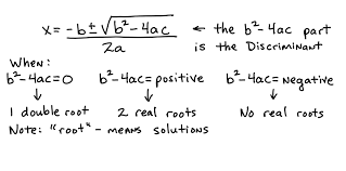 aii q 3 using discriminants of quadratic equations lessons tes teach