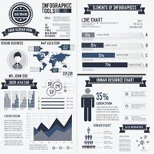 Infographic Resume Stunning Corporate Infographic Resume Elements Data Template On White