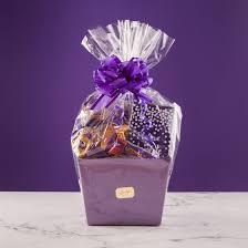 chocolate survival gift basket