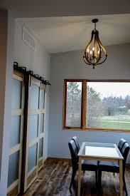 middlefield chandelier in breakfast nook