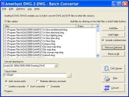 Convert Dwg To Dxf Batch Conversion Utilities For Autocad Files Batch Convert Dwg Dxf