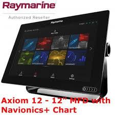 Navionics Chart Plotter Raymarine Axiom 12 Chart Plotter Navionics Radar