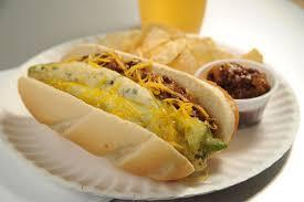 Hot Dog  με πιπεριά...