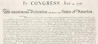 donald trump versus the declaration of independence