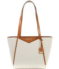 Dillards Designer Handbags On Sale Michael Michael Kors Signature Whitney Small Top Zip Tote