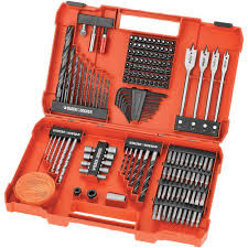 black and decker tools. black \u0026 decker 201-piece power tool accessory set and tools d