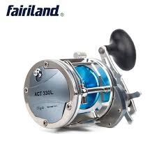 4BB 6.2:1All-Metal Boat DrumTrolling Reel 25kg Drag Power ...