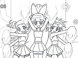 Powerpuff Girls Coloriages Hanamamainfo