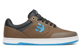 Etnies Marana Crank Shoes Brown Blue