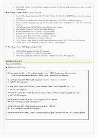Sample Resume For Maintenance Engineer Digiart Industrial