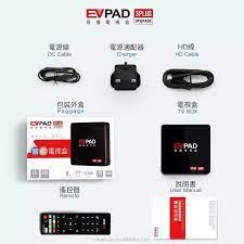2019 Iptv Korean Android Tv Box Evpad 3s Evpad 3 Plus Streaming Tv Box  Korea/japanese/malaysia Live Hd And Stable Channels - Buy Evpad 3s,Evpad 3  Plus,Ubox 7 Product on Alibaba.com