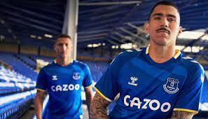 Hummel & Everton Unveil 21/22 Home Shirt - SoccerBible
