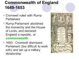 「commonwealth of england 1649」の画像検索結果