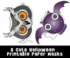 You can make them whatever colour hi. Cute Printable Halloween Animal Paper Masks Woo Jr Kids Activities