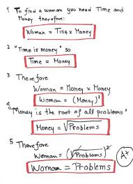 thumbs up if yall think this is funny o o this probably is funny but it made me think to much so i couldnt remember how to laugh women problem calculus