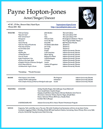 Template Theater Resume Free Actors Marvellous Ideas Actor 8 Acting