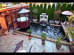Small Picture koi fish garden ponds design ideas YouTube