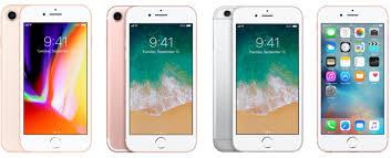 Iphone 8 Vs Iphone 7 Vs Iphone 6s Vs Iphone 6 Whats The