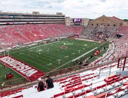 Wisconsin Badger Football Stadium Seating Chart Camp Randall Stadium Kk Seat Views Seatgeek