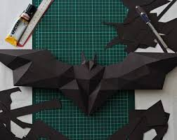 2020 popular 1 trends in home & garden, lights & lighting, home improvement, automobiles & motorcycles with batman decor wall and 1. Owl Model Owl Low Poly Owl Sculpture Owl Paper Papercraft Kit Etsy Batman Diy Diy Gifts Etsy Paper Crafts