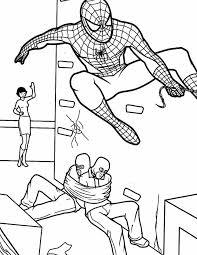 Kleurennu Spiderman Boeven Kleurplaten