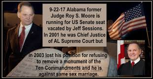 Image result for judge roy moore ten commandments images