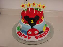 Ideas For Mickey Mouse Birthday Cake Designs Wedding Academy