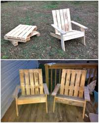 easy to build your own pallet adirondack chair tutorial
