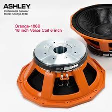 Jual Speaker 18 Inch Ashley Orange 186B Spul 6 Inch 3400 Watt ...