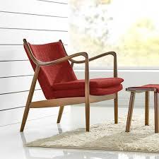 modern club chair mid century danish wood vintage accent lounge arm foam seat us