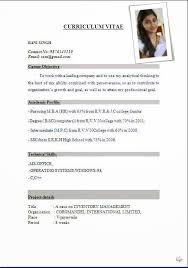 Download Resume Format Download Resume Format Simple Resume Format
