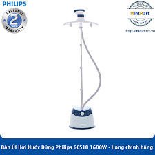 Bàn Ủi Hơi Nước Đứng Philips GC518 (1600W) - Hàng Chính Hãng - Bảo Hành 2  Năm Toàn Quốc - mintmart.vn