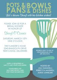 Kitchen Tea Invites Bridal Shower Invitations Kitchen Bridal Shower Invitations