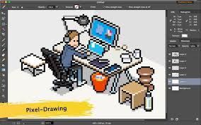 paint for mac pixel drawing