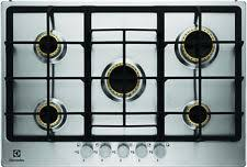 electrolux gas hob. electrolux egg7355nox 75cm 5 burner gas hob stainless steel fa7302