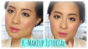 korean makeup tutorial k makeup using laneige puppy eyes eyeliner grant lips you